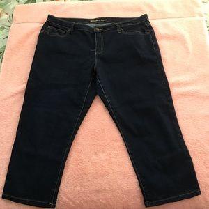 EUC Michael Kors Womens Jeans Skinny Cropped Capri